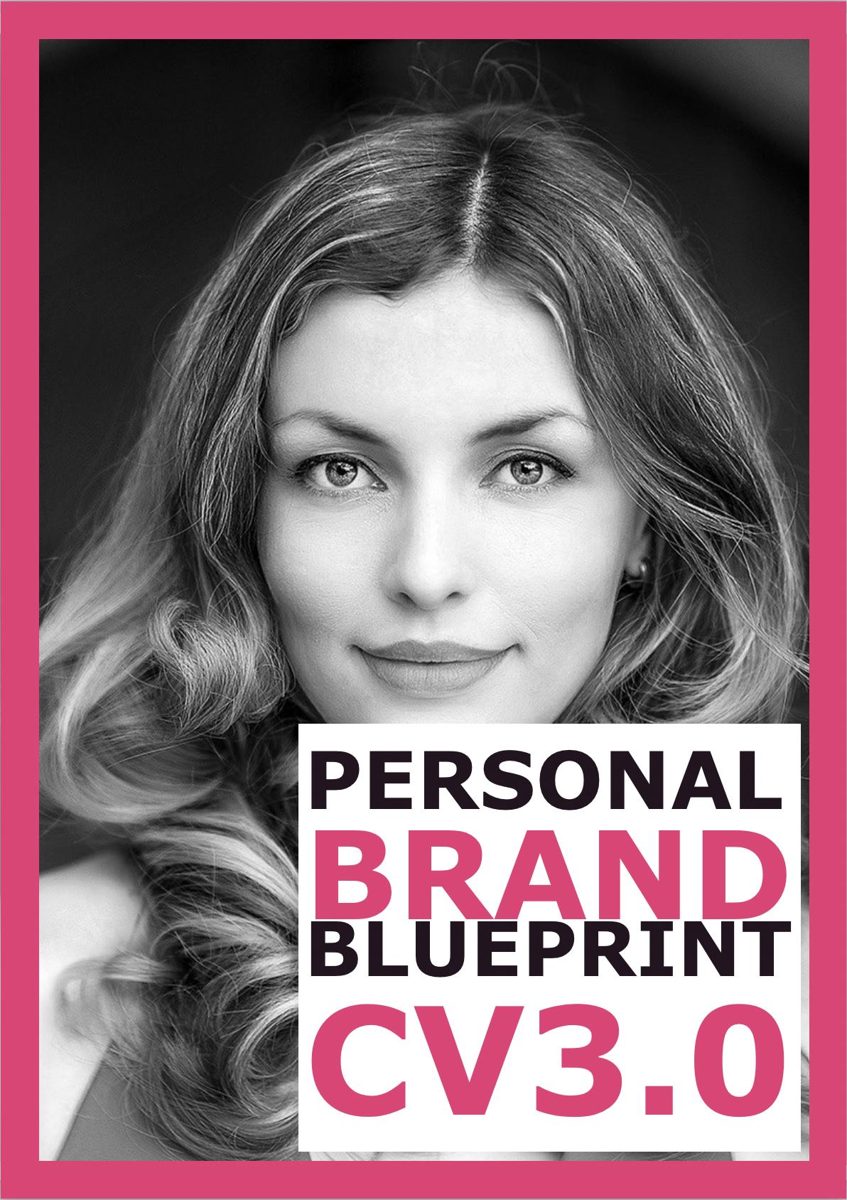 Cover: Personal Brand Blueprint CV3.0