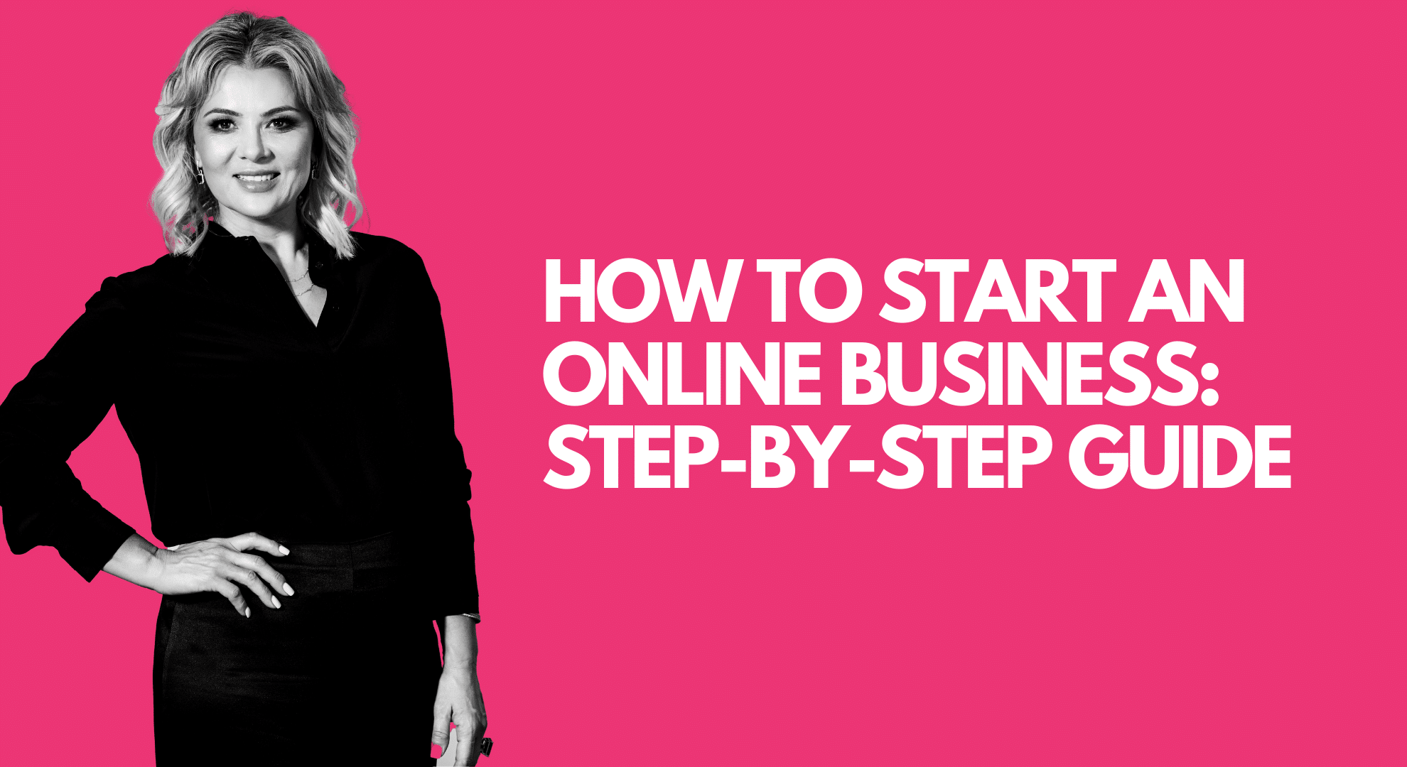 how to start an online business step-by-step guide