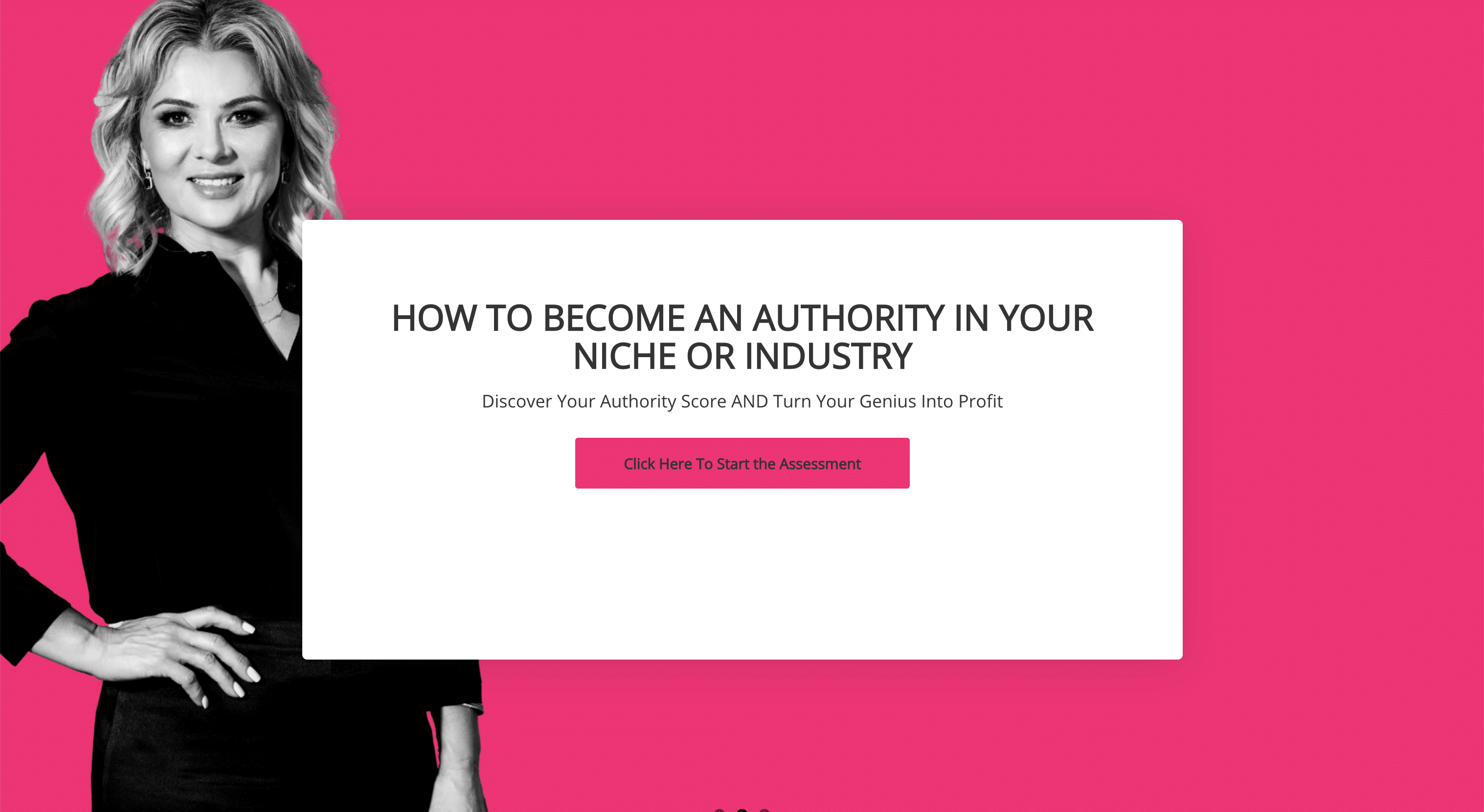 how to become an authority in your nice or industry