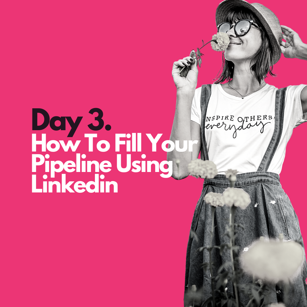 How to fill your pipeline using linkedin