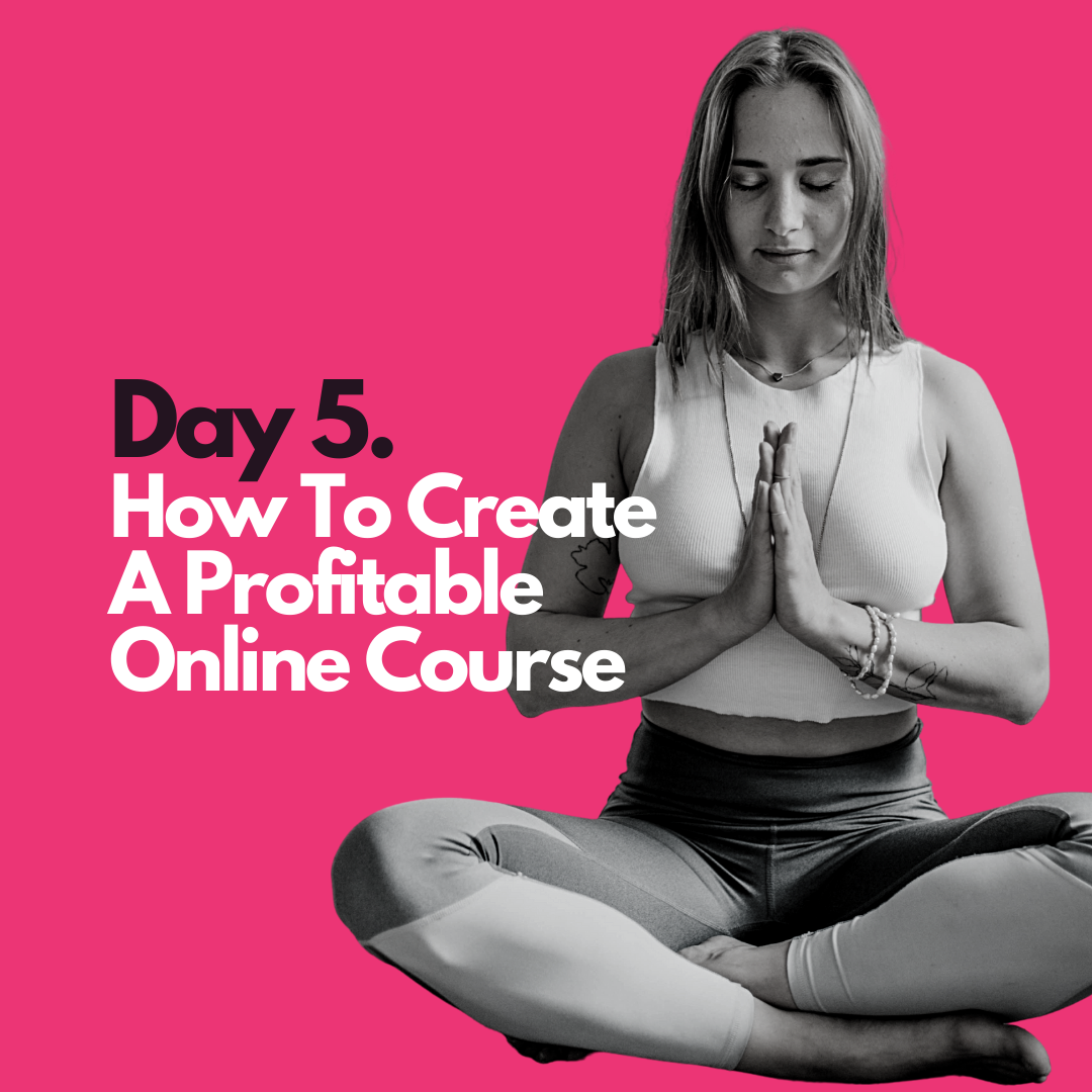 How to create create a profitable online course
